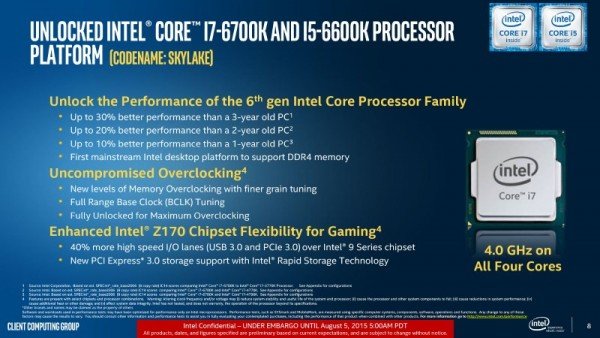 Intel Core i5-6600K and Intel Core i7-6700K - Skylake