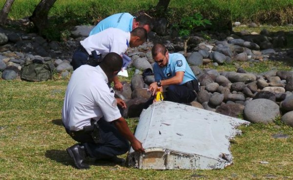 MH370 Debris in Reunion Island