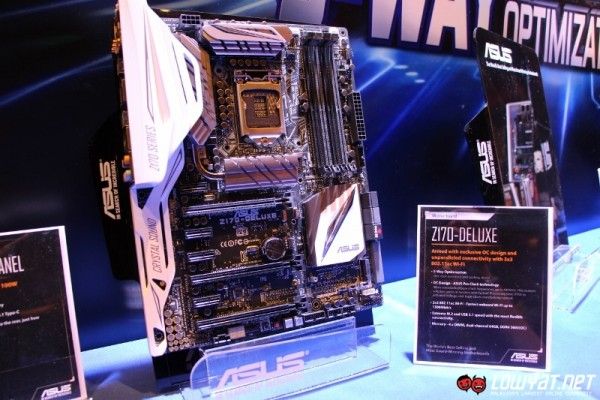 ASUS Z170 Signature Series Motheboards 01