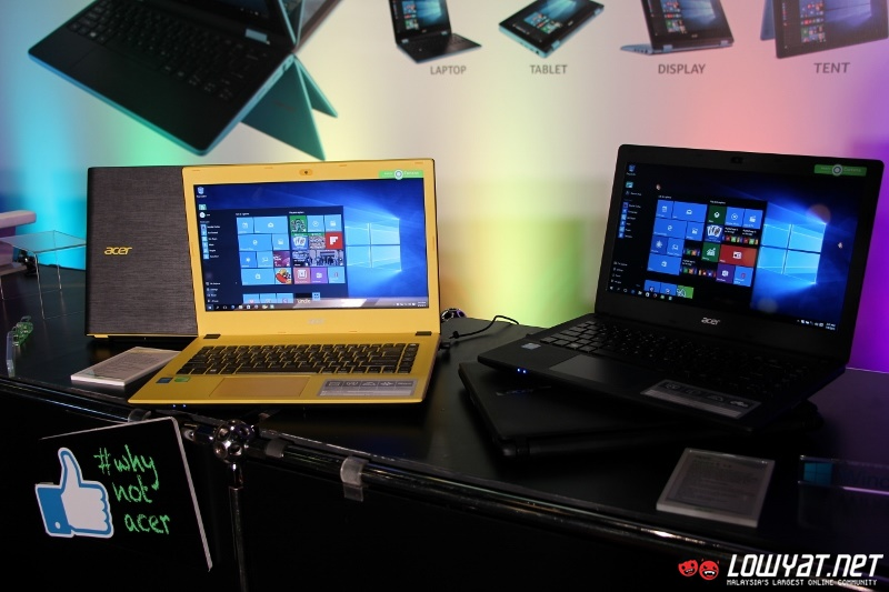 Acer Malaysia Begins To Ship Aspire E Series Laptops With