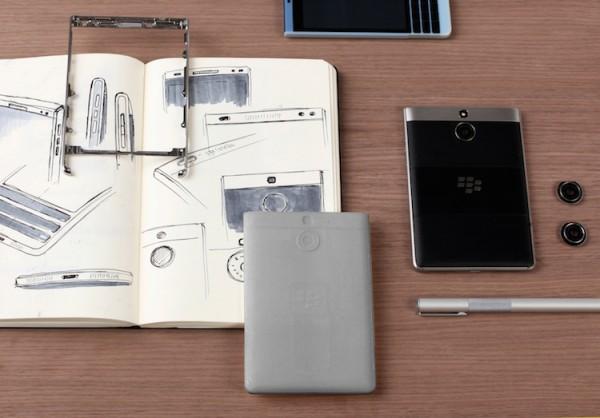 BlackBerry Passport Silver Edition Design