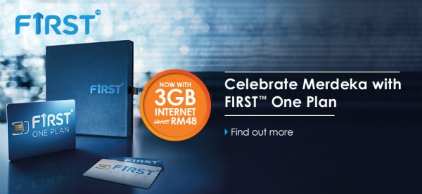 Celcom First One Merdeka Promotion with 3GB Data