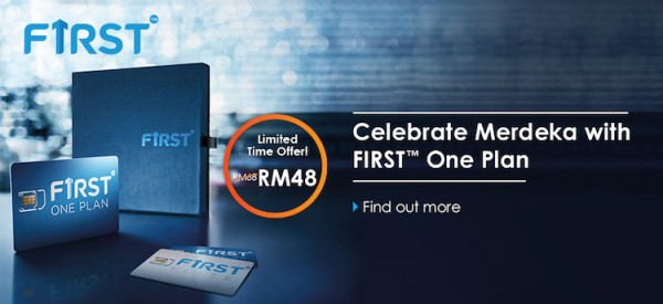 Celcom First One Plan Merdeka Offer