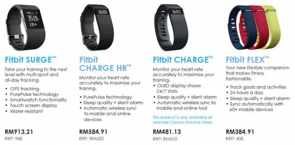 Celcom Fitbit Price