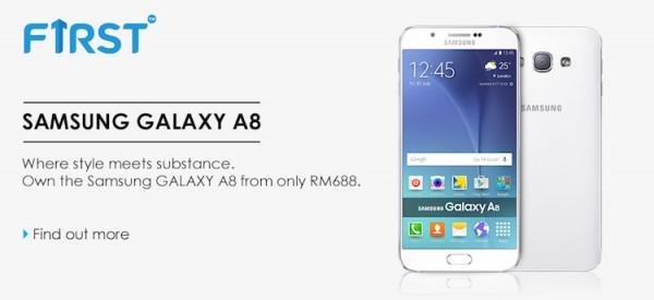 Celcom Samsung Galaxy A8 Bundle
