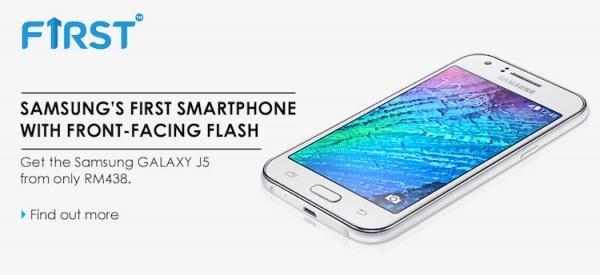 Celcom Samsung Galaxy J5 Bundle
