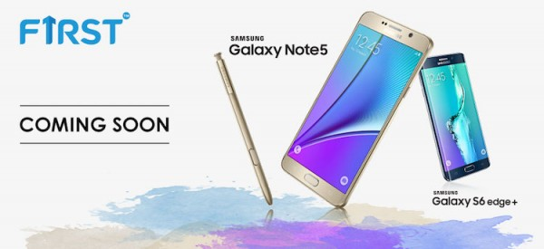 Celcom Samsung Galaxy Note 5 and S6 edge plus teaser