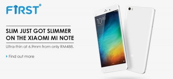 Celcom Xiaomi Mi Note Bundle