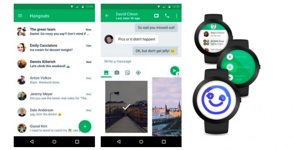 Google Hangouts 4.0 for Android