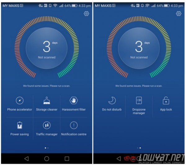 Huawei P8 EMUI Phone Manager