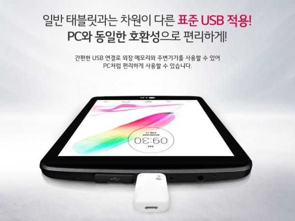 LG G Pad 2 8.0 USB 1