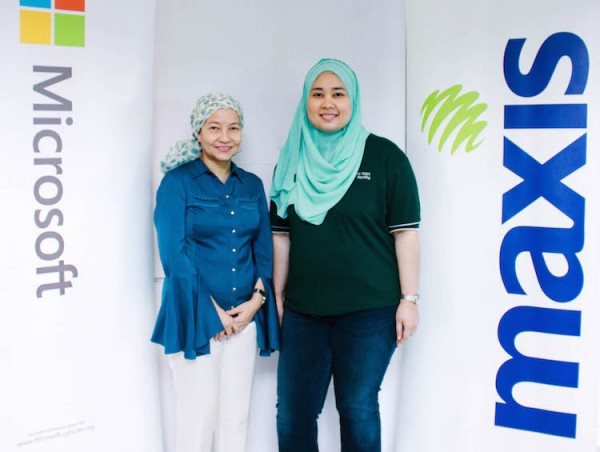 Maxis and Microsoft Office 365 Collaboration