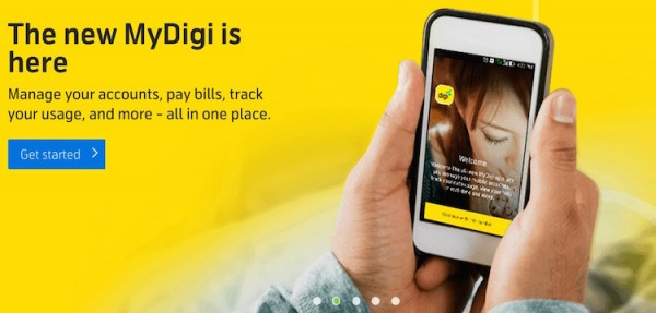 New MyDigi App