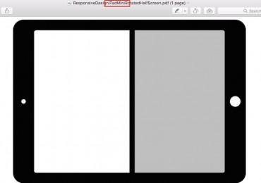 iPad Mini SplitView