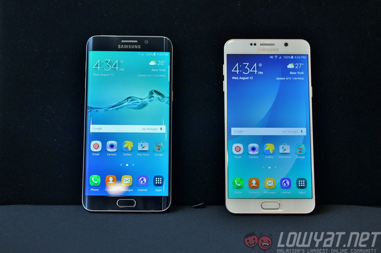 Spec Sheet Samsung Galaxy Note 5 Vs Oneplus 2 Vs Iphone 6
