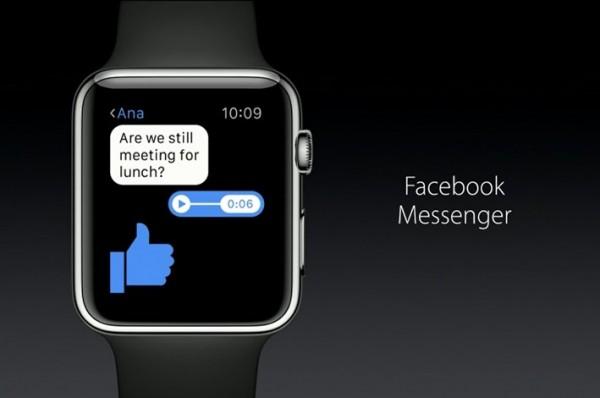 Facebook Messenger for Apple Watch