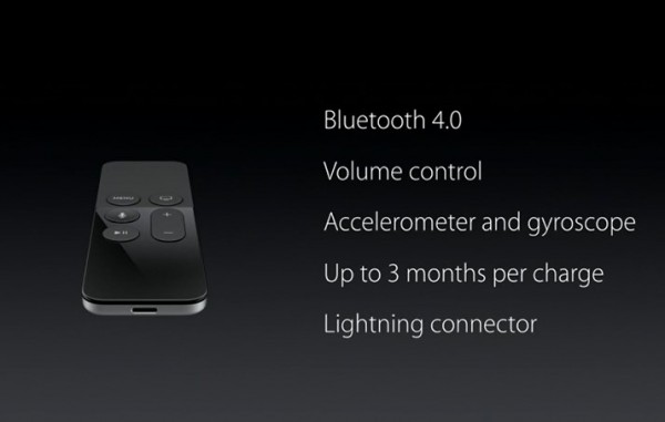 The New Apple TV Remote Control
