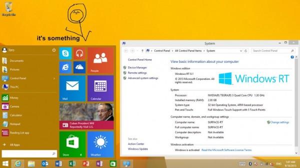 Start Menu for Windows RT 8.1