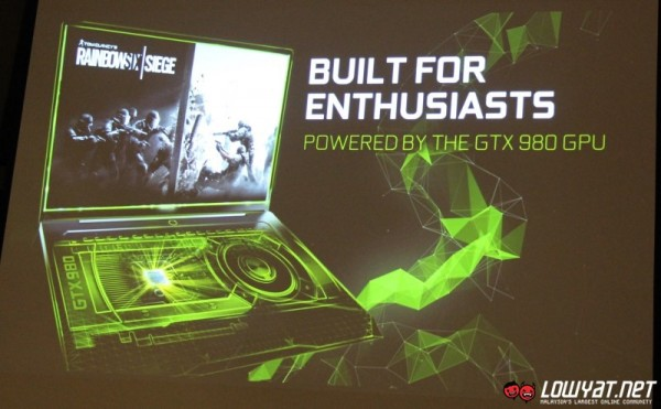 NVIDIA GeForce GTX 980 for Notebooks