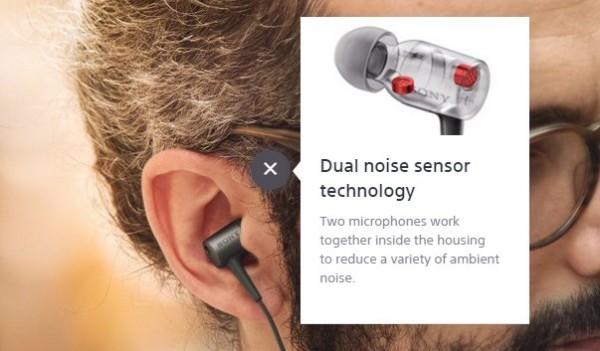 Sony h.ear in NC Headphones
