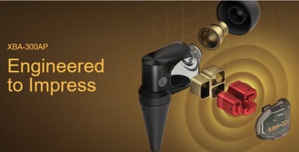 Sony XBA-300AP Balanced Armature Headphones