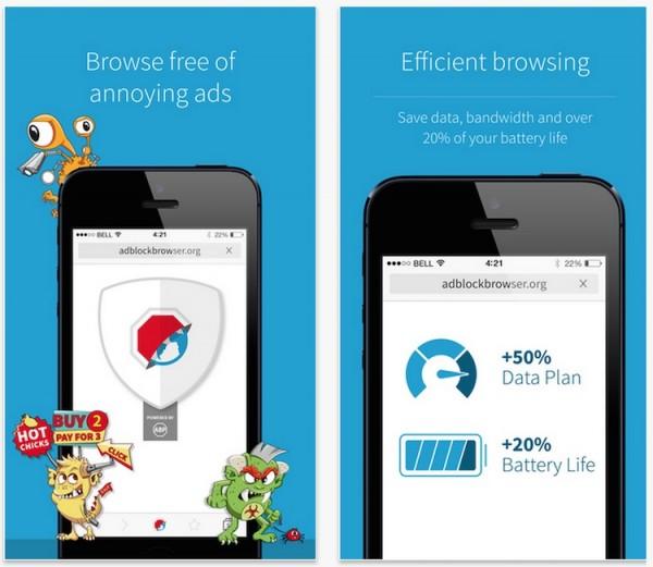 Adblock Browser iOS