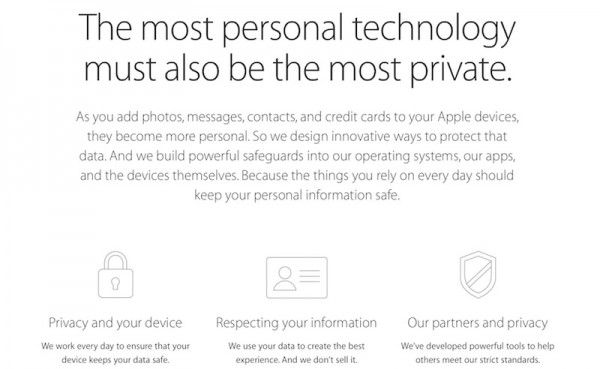 Apple Privacy Update