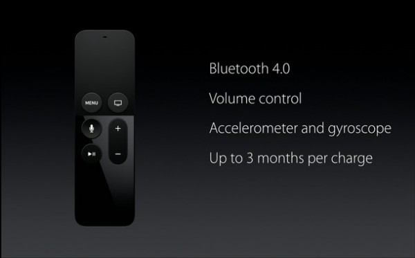Apple TV Remote features