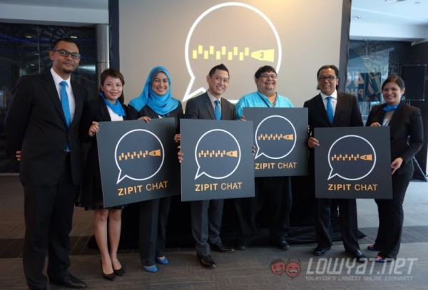 Celcom Zipit Chat Launch