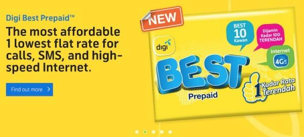Digi Best Prepaid New