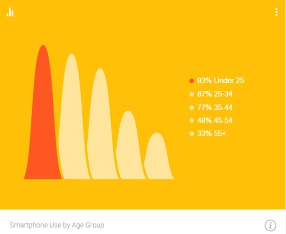 Google Consumer Barometer 2015 Age Groups