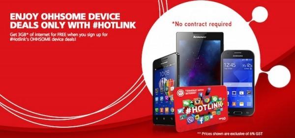 Hotlink Prepaid Phone Bundle