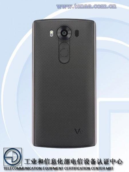 LG V10 Leak TENAA Back