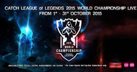 Month Long League Of Legends 2015 World Championship To Be Broadcast Live On Astro