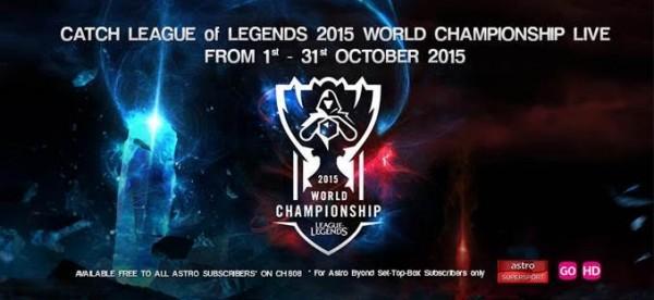 LoL 2015 World Championship on Astro