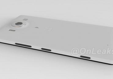 Lumia 950 CAD Render