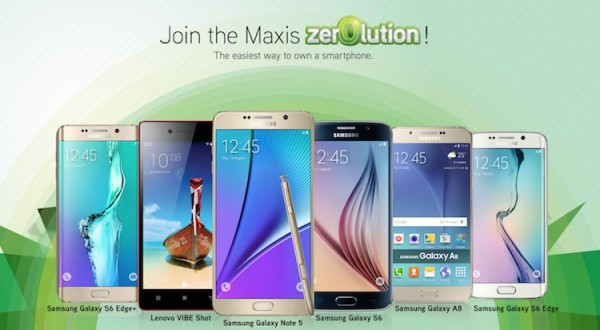 Maxis Zerolution with Samsung Galaxy Note 5 and Galaxy S6 edge Plus