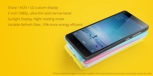 Xiaomi Mi 4c Display