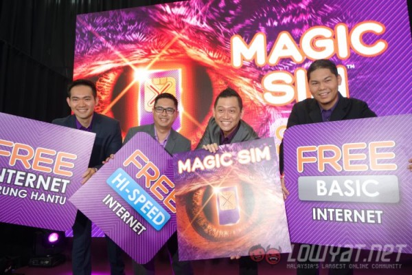 Xpax Magic SIM Free Internet Burung Hantu Launch