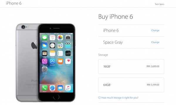 cost of an iphone 6 10 highlights from apple s quot hey siri quot event lowyat net 16835