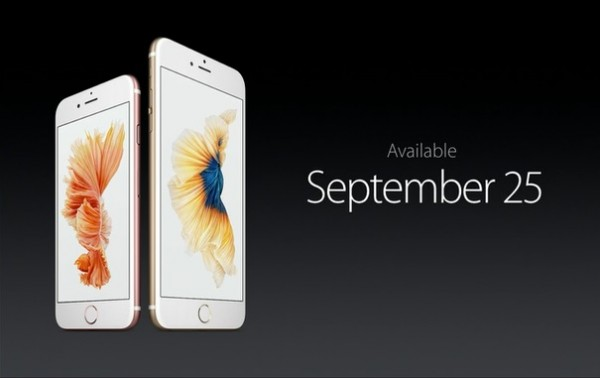 iPhone 6S Available