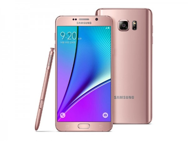 Samsung Galaxy Note 5 Rose Pink