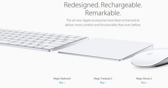 Apple Releases New Magic Keyboard Magic Mouse 2 And Magic Trackpad