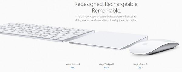 Apple Peripherals 2015