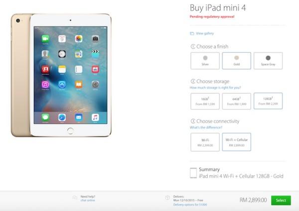 Buy iPad mini 4 Malaysia