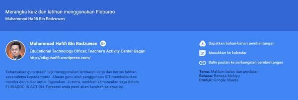 Google Education On Air Malaysia 2015 Speaker