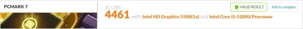 HP Spectre x360 PCMark 7