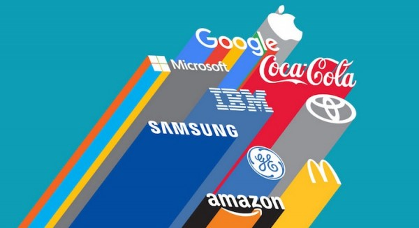 Interbrand 2015 Apple and Google Top Two