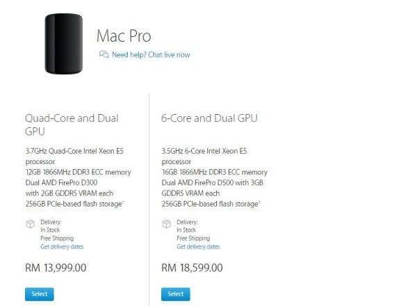 Mac Pro Price 14-10-15
