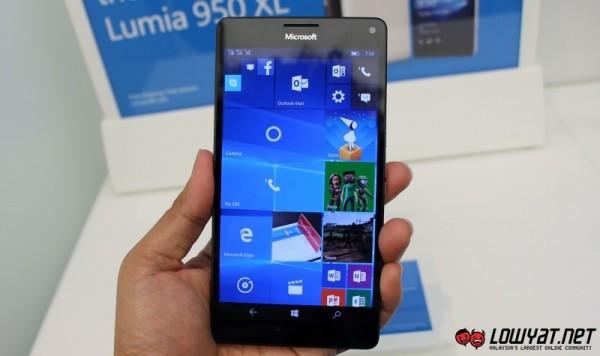 Microsoft Lumia 950 XL Hands On 05